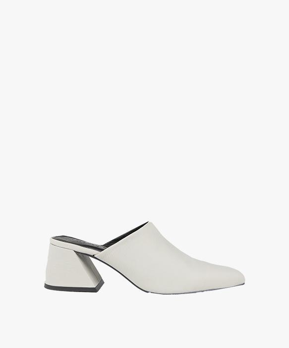 Plain Mule White