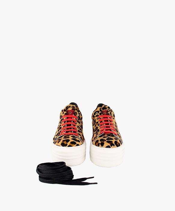 Zapatillas Leo rojo