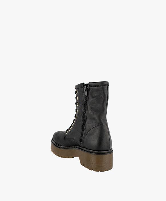 Shaggy Boots Black