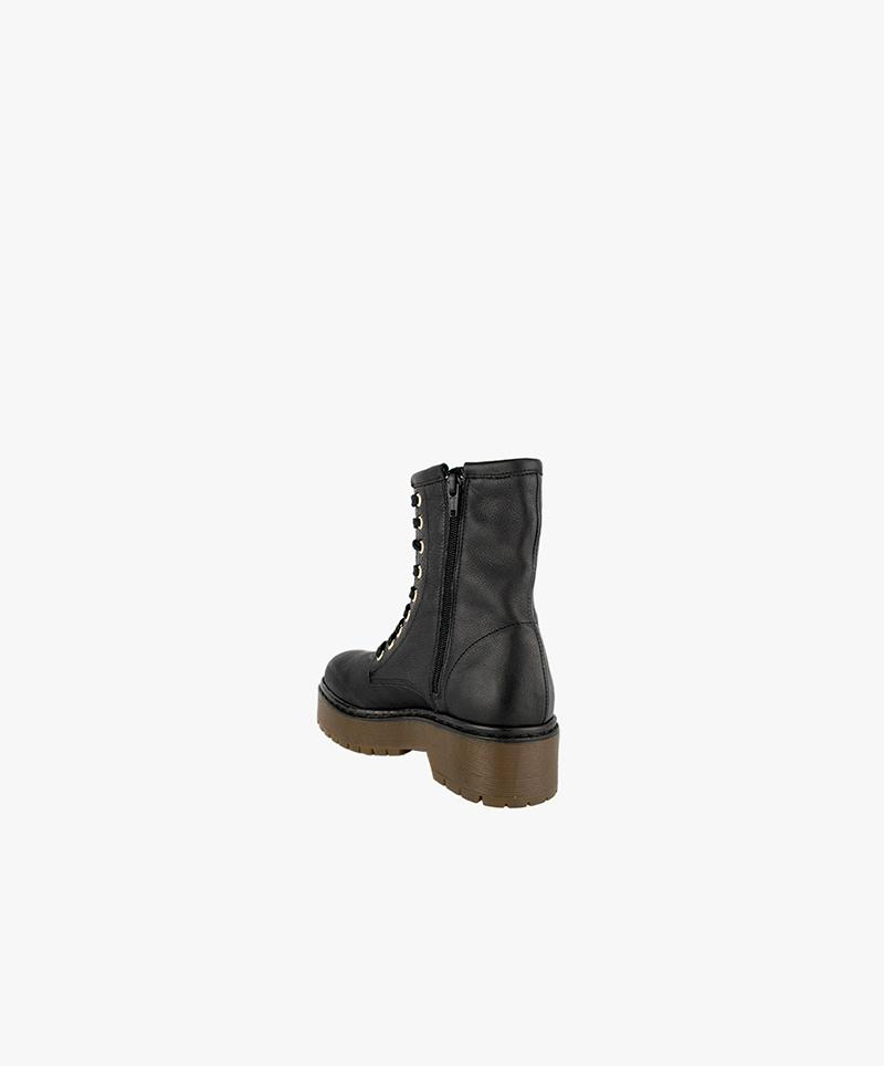 Shaggy Boots Black