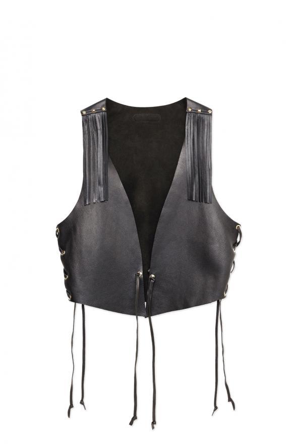 Waistcoat Ibiza black