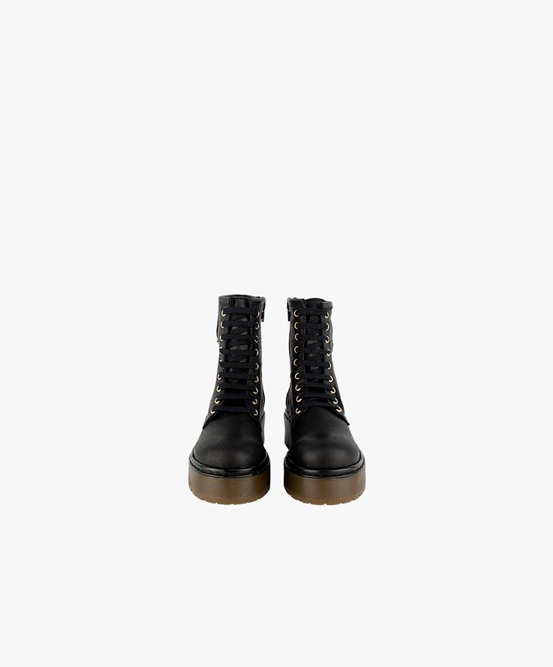 Shaggy Boots Negro
