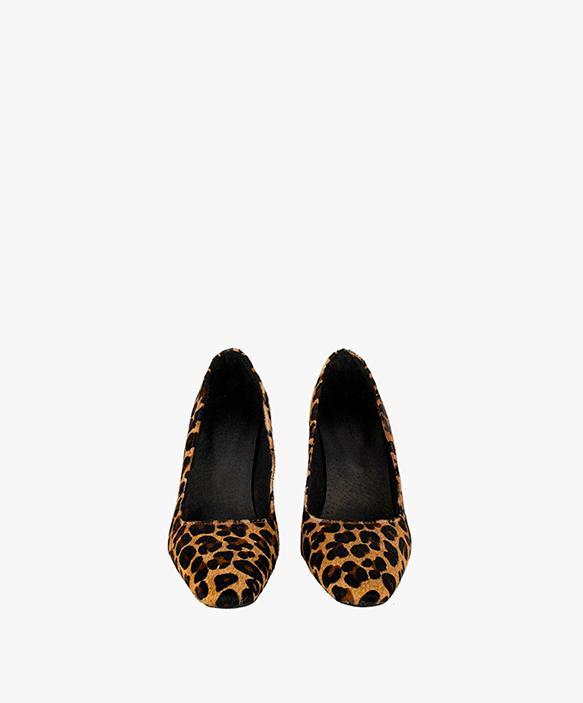 Leopard Print Lounge Shoe