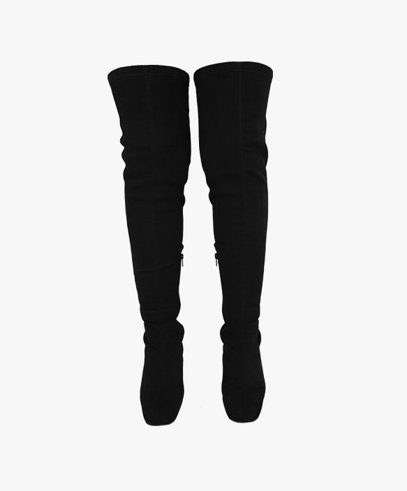 Botas Elásticas Negras