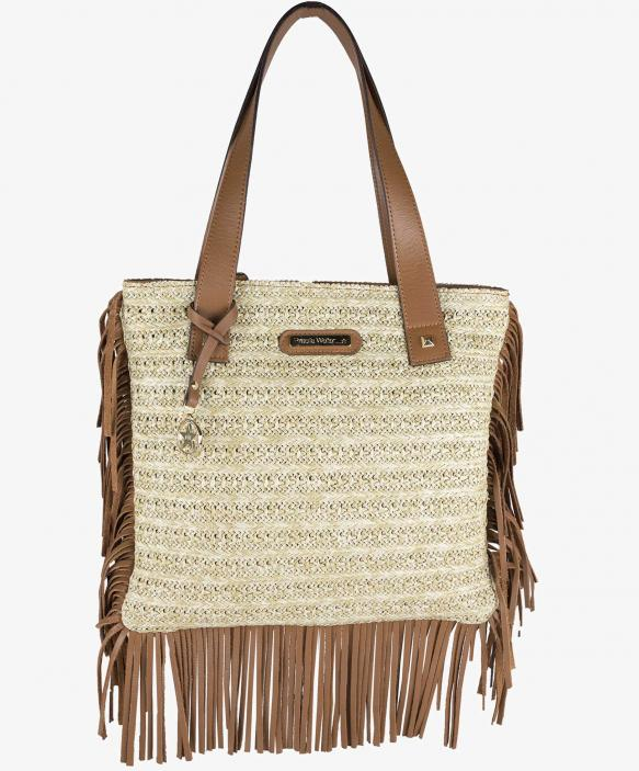 Natural Raffia Bag - Small