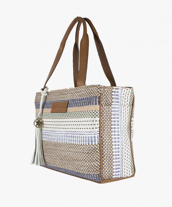 Shopping Bag Rafia Colores - Peq