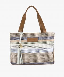 Shopping Bag Rafia Colores Peq
