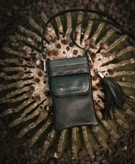 Smartphone bag cuero