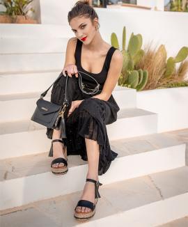 Sandalia Pietra - negro