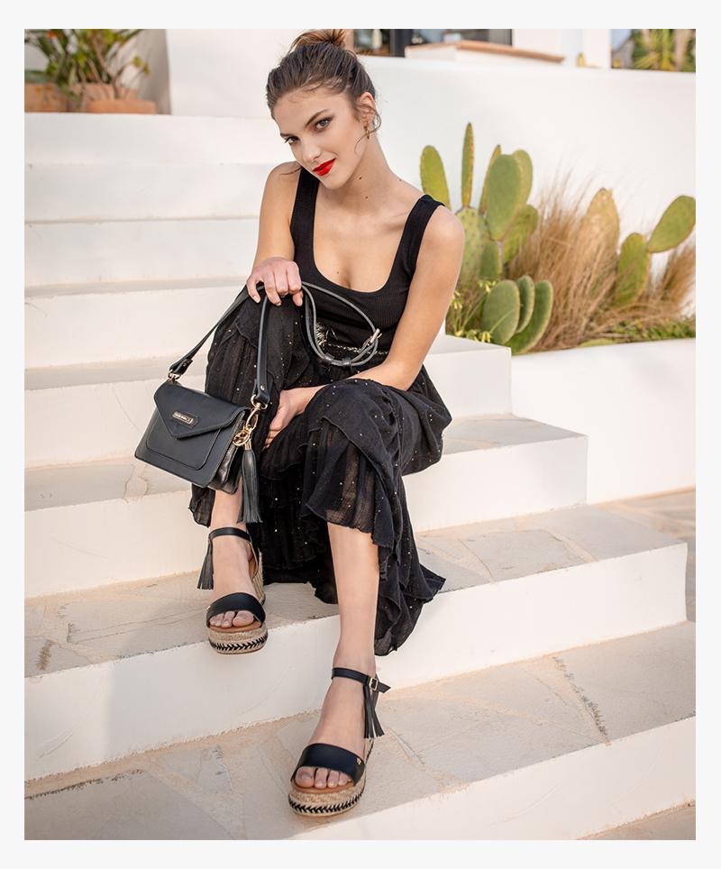 Pietra  Sandal - black