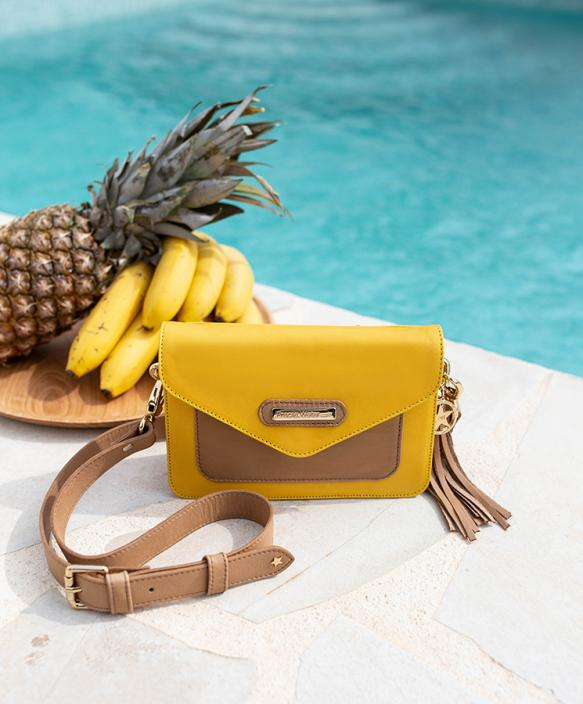 Martina Yellow Bag