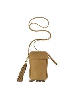 Zipper Smartphone Bag - Fringed