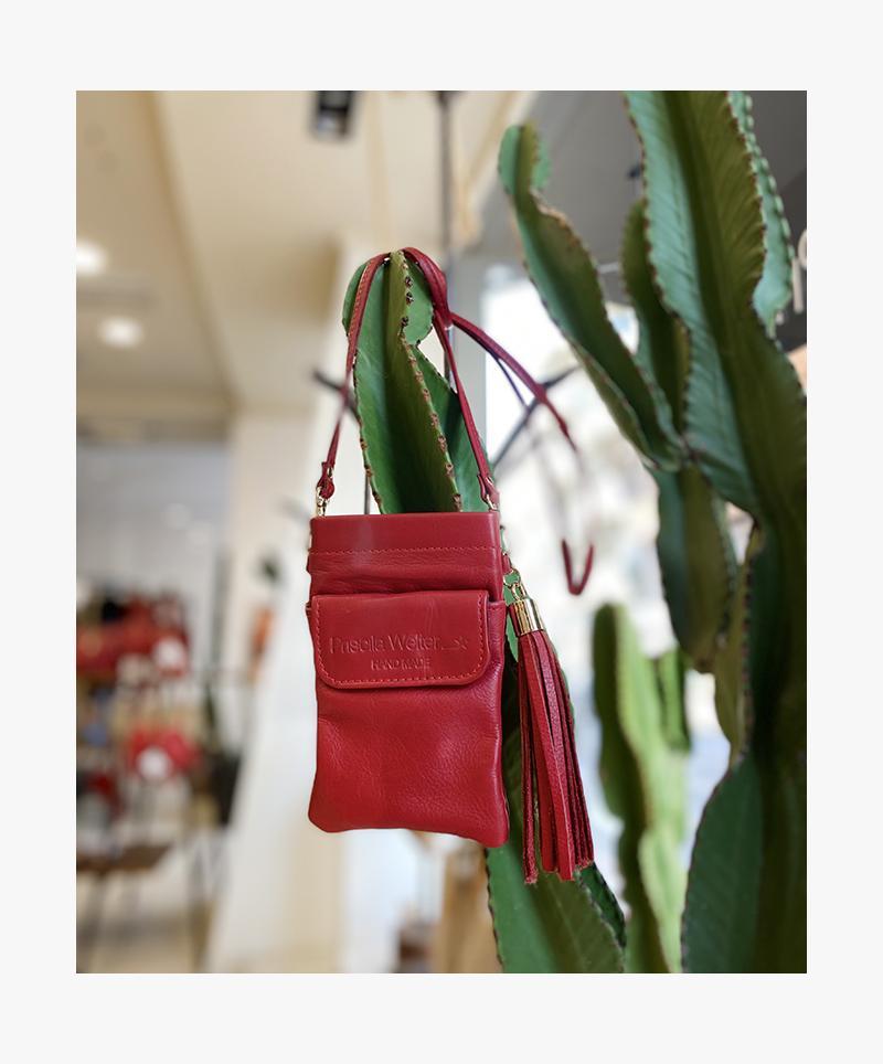 Smartphone Purse Bag  Red