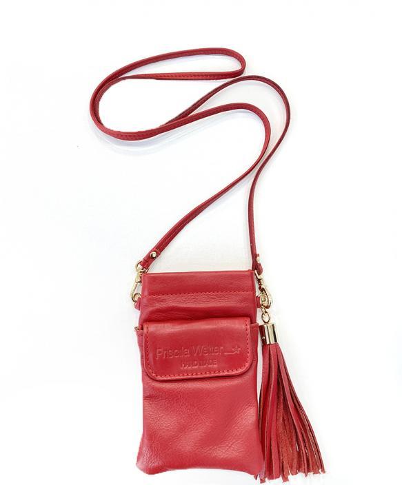 Smartphone bag bolsillo Rojo